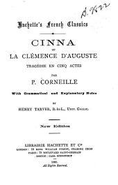 Cinna, ou, La clémence d'Auguste: tragédie en cinq actes