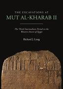 The Excavations at Mut Al-Kharab II
