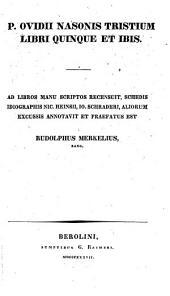 Tristium Libri V et Ibis