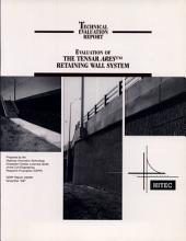 Evaluation of the Tensar ARES Retaining Wall System