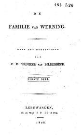 De familie van Werning: Volume 1