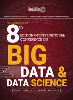 Proceedings of 8th Edition of International Conference on Big Data   Data Science 2019 PDF