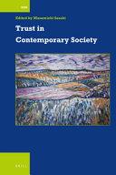 Trust in Contemporary Society