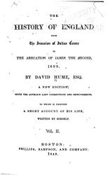 History of England from the Invasion of Julius Caesar to the Abdication of James the Second  1688 PDF
