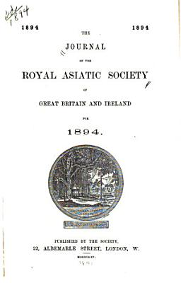 Journal of the Royal Asiatic Society of Great Britain   Ireland PDF