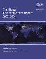 The Global Competitiveness Report 2003 2004 PDF