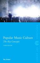 Popular Music Culture PDF