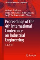 Proceedings of the 4th International Conference on Industrial Engineering PDF