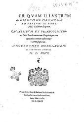 Quaesitum et praecognitiones libri Praedicamentorum: Porphirii cum opinionibus omnium nostri temporis philosophorum. Angelo Thyo Morcianensi Ydruntino auctore. 1547