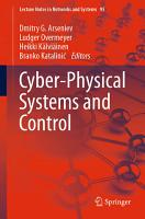 Cyber Physical Systems and Control PDF