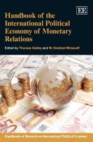 Handbook of the International Political Economy of Monetary Relations PDF