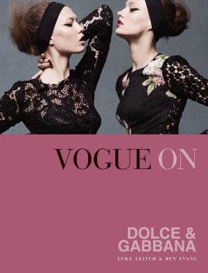 Vogue on  Dolce   Gabbana