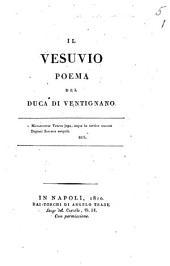 Il Vesuvio poema del duca di Ventignano