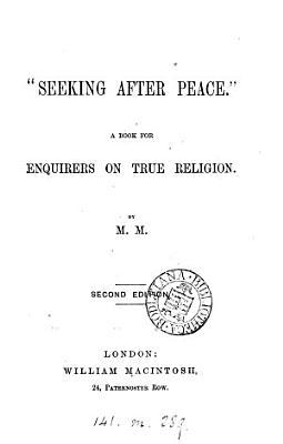 Seeking after peace   PDF