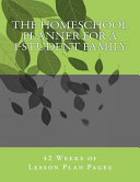 The Homeschool Planner for a 1 Student Family