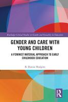 Gender and Care in Teaching Young Children PDF
