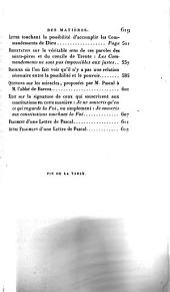 Œuvres de Blaise Pascal: Volume3