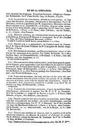 Bibliographie de la France: Partie2