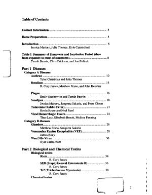 Bioterrorism and Me PDF