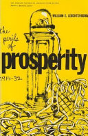 The Perils of Prosperity, 1914-32