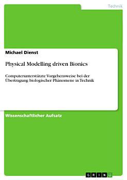 Physical Modelling driven Bionics PDF