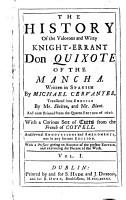 The History of the Valorous and Witty Knight errant Don Quixote of the Mancha PDF
