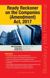 Ready Reckoner on the Companies (Amendment) Act, 2017