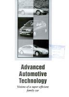 Advanced Automotive Technology PDF