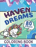 Haven Dreams Coloring Book