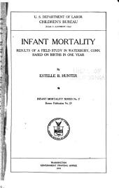 Infant Mortality Series: Issues 7-12
