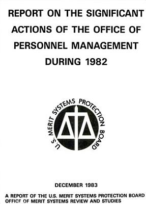Report on the Significant Actions of the Office of Personnel Management During     PDF