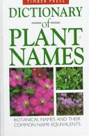 Dictionary of Plant Names PDF