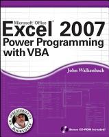 Excel 2007 Power Programming with VBA PDF