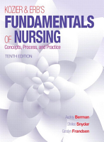 Kozier   Erb s Fundamentals of Nursing  Concepts  Process  and Practice  10th  Edition PDF