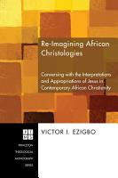 Re imagining African Christologies PDF