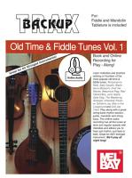 Backup Trax Old Time   Fiddle Tunes for Fdl   Mandolin PDF