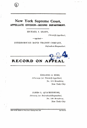 Supreme Court Appellate Division-Second Department
