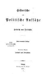 Historische und politische aufsätze: bd. Freiheit und königthum