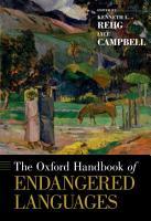 The Oxford Handbook of Endangered Languages PDF
