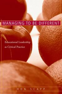 Managing to be Different Book