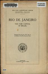Rio de Janeiro: The Fair Capital of Brazil