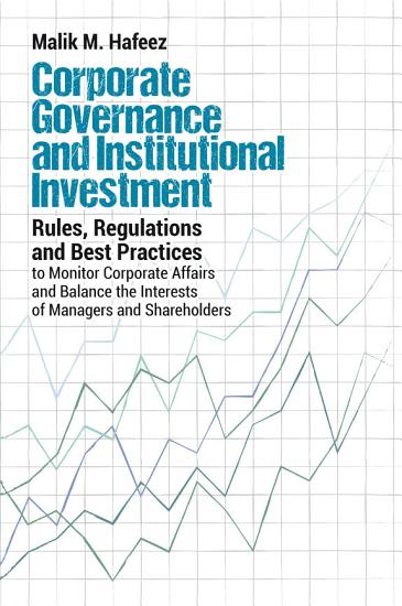 Corporate Governance and Institutional Investment PDF