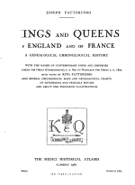 Kings and Queens of England and of France