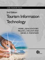 Tourism Information Technology  2nd Edition PDF