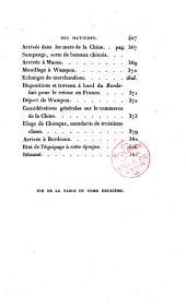 Journal d'un voyage autour du monde: pendant les années 1816, 1817, 1818, et 1819