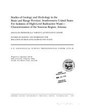 U.S. Geological Survey Professional Paper