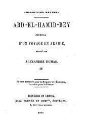 Ald-el-Hamid-Bey: Journal d'un voyage en Arabie, Volume4