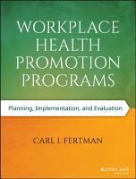 Workplace Health Promotion Programs PDF