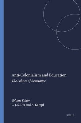 Anti Colonialism and Education PDF