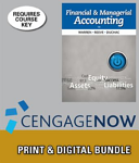 Epack  Financial   Managerial Accounting   Cengagenow Instant Access